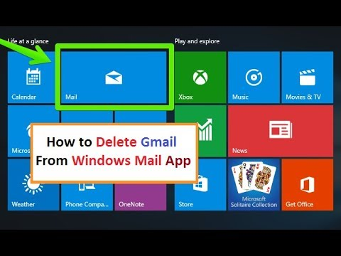 How to Change Email in Windows 10 | Windows 10 mail app