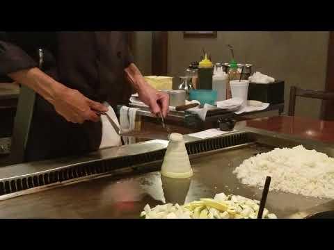 Onion Volcano NEW TRICK @ Japanese Steakhouse