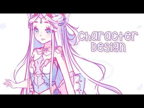 Speedpaint   Character Design [Paint tool SAI]