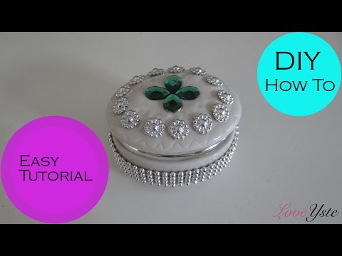 DIY - How To Make a Clay Jewelry Box Fun (Easy Tutorial)