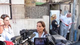 #x202b;חשד לרצח בשכונת שפירא 030413#x202c;lrm;