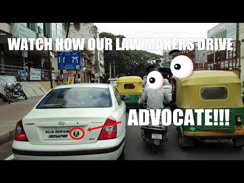 How our Lawmakers drive | Road Rage | Stop for Pedestrians