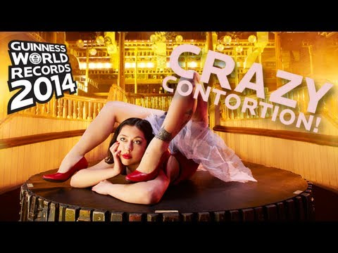 World's Fastest Back Bend Walk -- Guinness World Records 2014