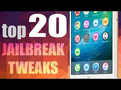 Top 20 Cydia Tweaks for iOS 9.3.3 Of ALL TIME - iOS 9 PANGU Jailbreak Compatible!