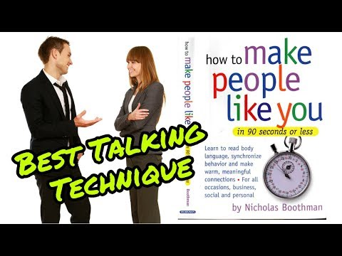 How to make people like you in 90 sec or less / special video for celebation 1000 + subscribers