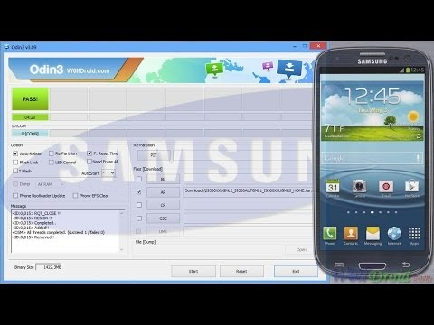 How to Flash Official Firmware for ANY Samsung Galaxy S3 Model