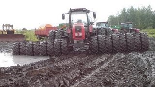 Tractors Stuck in Mud 2017