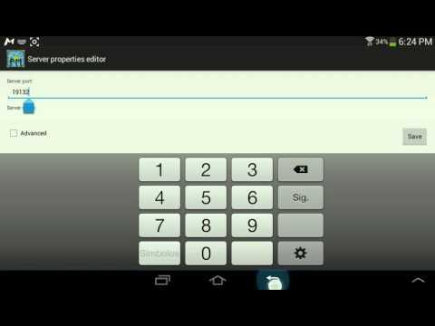 App para crear server para MCPE v0.12. Y v0.11.1