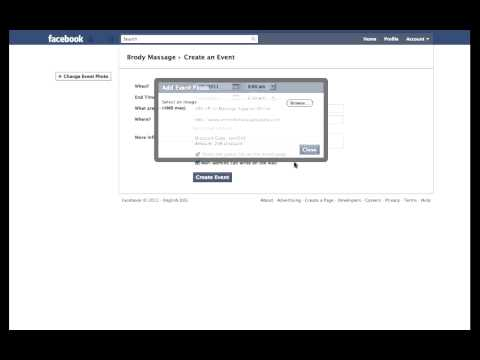 Create an Event on Facebook - for Business Page