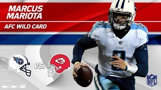 Marcus Mariota Leads 18-Point Comeback vs. KC! | Titans vs. Chiefs | Wild Card Player HLs