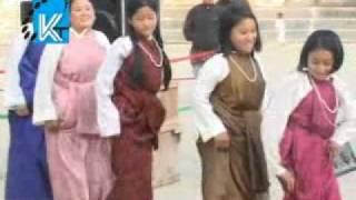 lepcha girls dance