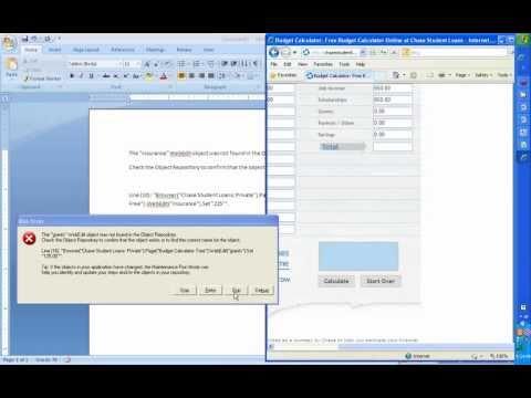 QTP Tutorial 2 Testing QTP Training VB Script QTP Frameworks beginners QTP QTP Testing Automation