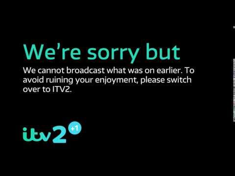 ITV2+1 Legal Message Slide 2017 Mock - 1080p HD