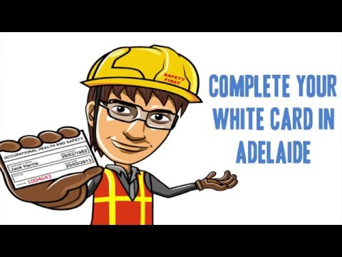 White Card Adelaide Safety Training - Your Questions. Answered
