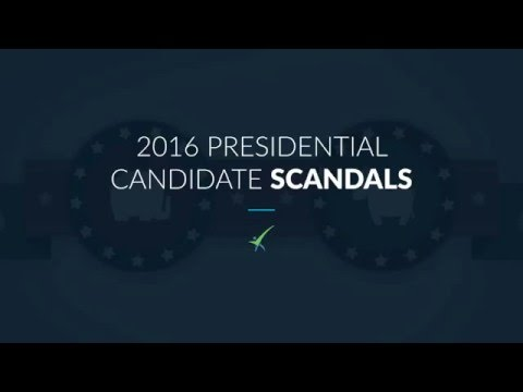 Presidential Candidate Scandals 2016