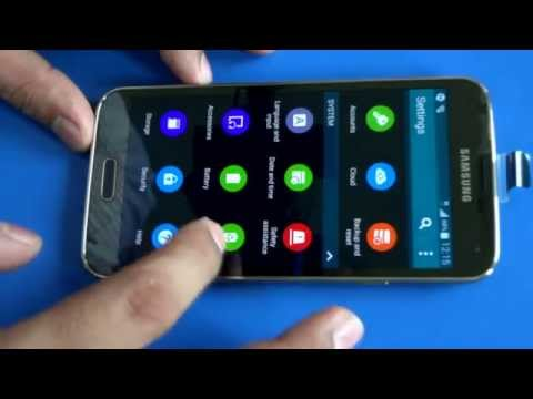 Easy to enable USB debugging mode in Samsung Galaxy S5 Andriod device