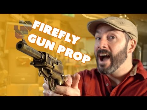 How to Make Malcolm Reynolds' Pistol from Firefly plus Free Templates - Happy 100k!
