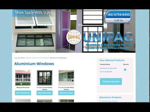 Singapore Aluminium Windows And Doors Company