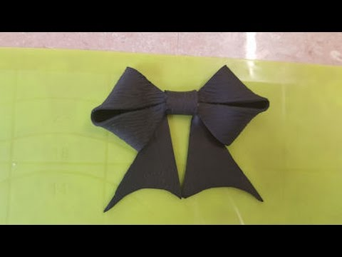 fondant bow tutorial fancy gum paste bow with template