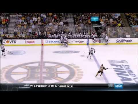 NBC Sports Post Game Report part 2. 6/17/13 Chicago Blackhawks vs Boston Bruins NHL Hockey