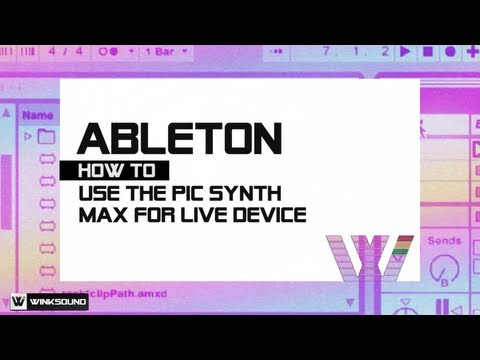 Ableton Live: Pic Synth Max For Live Device | WinkSound