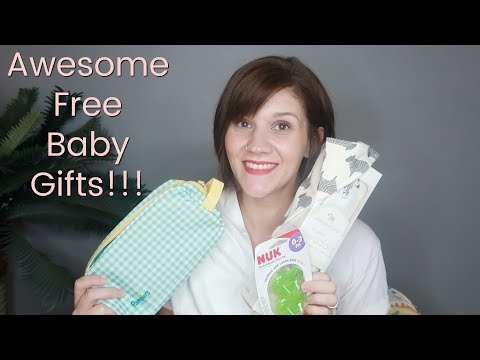 FREE BABY STUFF! | Amazon and Babylist Registry Gift Boxes