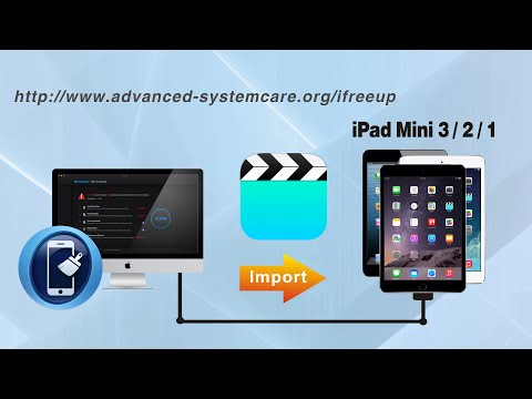How to Import Videos to iPad Mini 4/3/2/1 from Computer without iTunes by iFreeUp