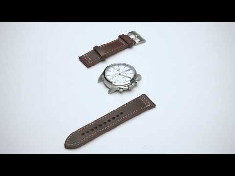 How To Change Leather Watch Straps With Quick Release Pin