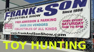 FRANK AND SON COLLECTIBLE SHOW TOY HUNTING at FRANK and SONS 2015
