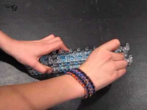 Rainbow Loom *NEW* Snake Twist Bracelet Part 1