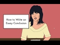 How To Write A Conclusion mp3
