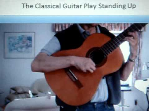 Classical Guitar support, play standing up