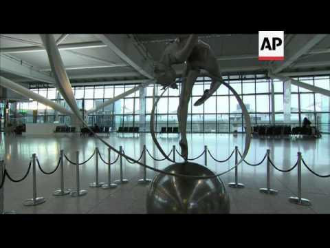 New Heathrow terminal for Heathrow and tube trains ahead of Olympics