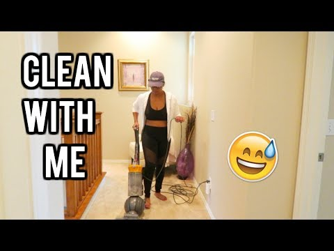 CLEAN THE WHOLE ENTIRE HOUSE WITH ME! Weekly cleaning routine!