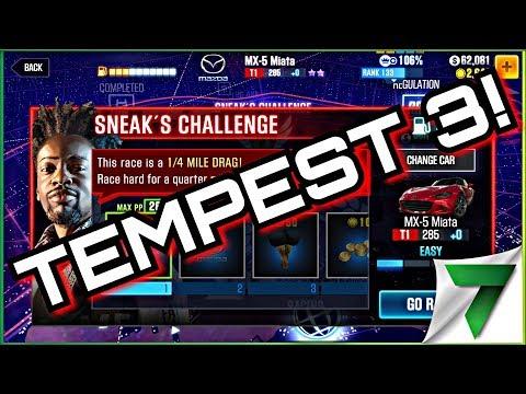 Tempest 3 Sneak Challenge! Part 1   CSR Racing 2