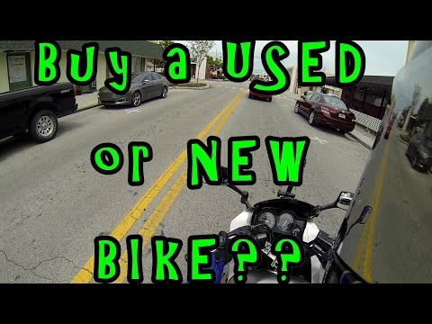 Tutorial: Should You buy a USED or NEW Motorcycle? Beginner Rider Tips. Kawasaki Ninja 250r