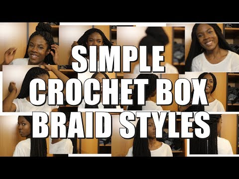 Crochet Box Braid Styles Tutorial + My Fav. African Songs