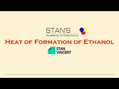 Enthalpy of Formation of Ethanol | Hess's Law | Short Method | Thermodynamics | Chemistry