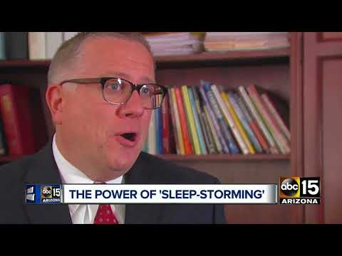 The best ways to try out 'sleep-storming'