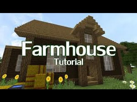 How To Build A Safe And Easy Farm House In Minecraft