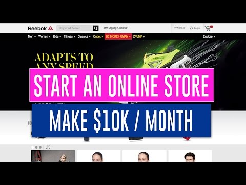 How to Start an Online Store to Make $10K Month