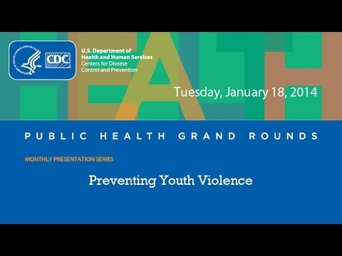 CDC Grand Rounds: Preventing Youth Violence