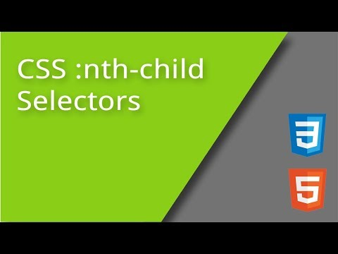 CSS nth child Selectors