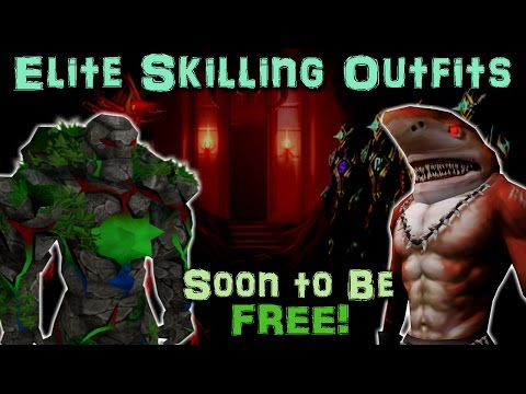 Elite Skilling Outfits to be obtainable via IN-GAME means!