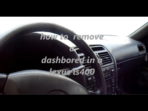 how to remove a dashbored 2