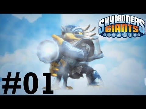 Skylanders Giants Wii U Co-op -- Chapter 1: Time of the Giants - Nightmare Mode