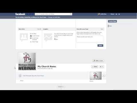 Create a Church Facebook Fan Page | February 2013