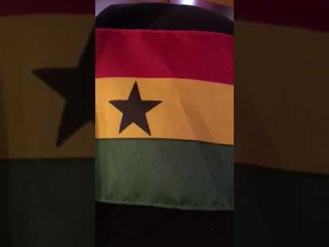 Ghana National anthem:-Hail to thy name oh Ghana
