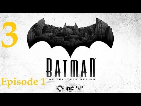 Batman - Telltale Game Series - Episode 1 - Realm of Shadows Walkthrough Part 3 [1080p HD]