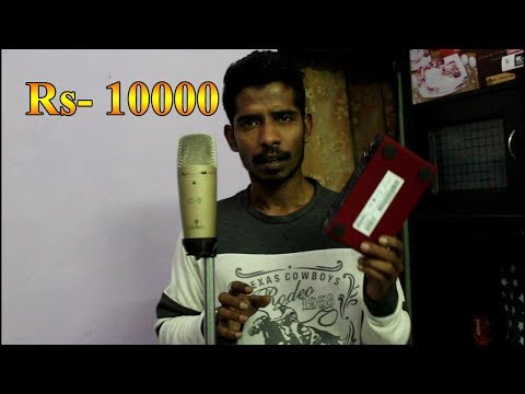 Easy and Cheap Professional Home Music Recording Studio Setup l How to use for Beginners in Hindi